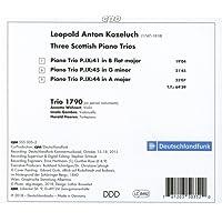 Leopold Kozeluch : Trois trios pour piano écossais. Trio 1790.