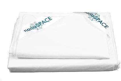 nanoSPACE antifúngica funda Fu & # X308; R colchones Comfort + 160 x 200 x