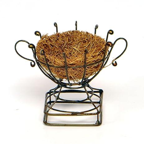 Miniature Fairy Garden Wire Urn