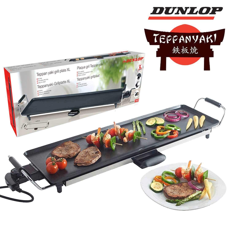 Dunlop Teppan-Yaki Grillplatte 87x23 cm 1800 Watt