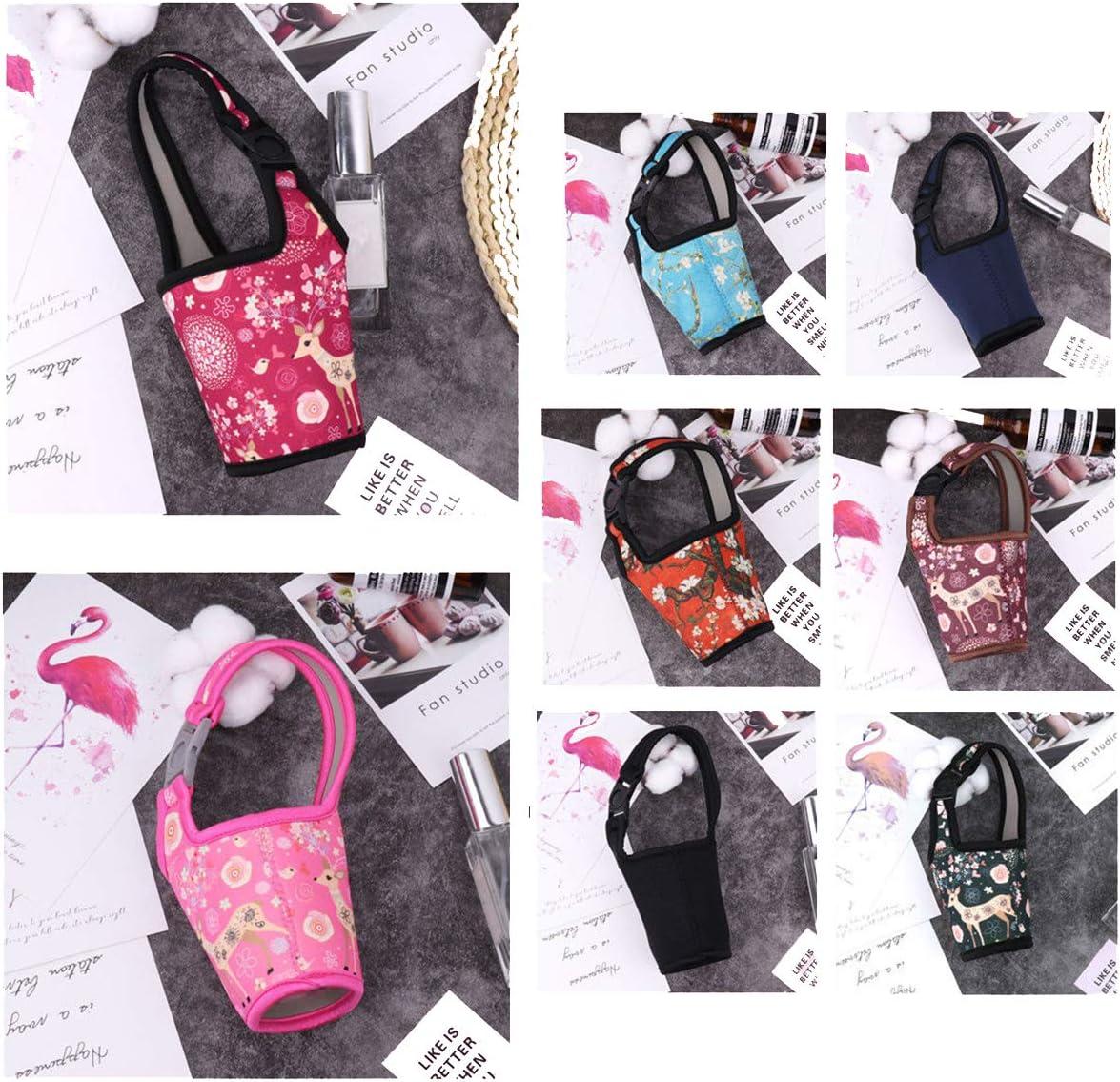 Baby Bottle Bag Milk Thermal Insulation Antiscald Cover Holder Keep Warm Storage Blue Kimnny Bag