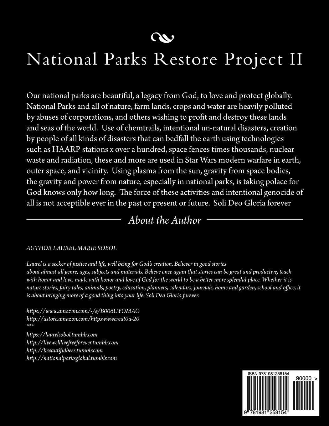 National Parks Restore Project II (Save Our Planet Campaign
