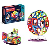 63074 Magformers Creator Carnival Set (46-pieces) Deluxe Building Set. Magnetic Building Blocks, Educational Magnetic Tiles,