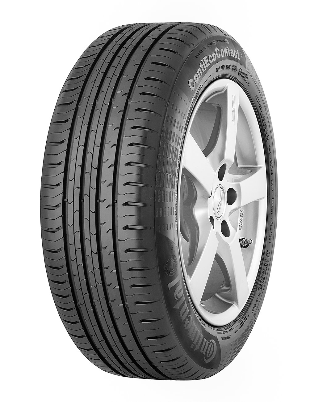 CONTINENTAL ContiEcoContact 5 MO  - 205/55/16 091V - B/B/71dB - Summer tire (Passenger Car) Continental Corporation