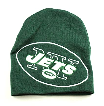 8ab1cbc5c51f73 Image Unavailable. Image not available for. Color: NFL New York Jets Team  Color Beanie Hat