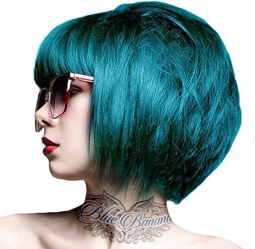 2 x Crazy Color Peacock Blue 45