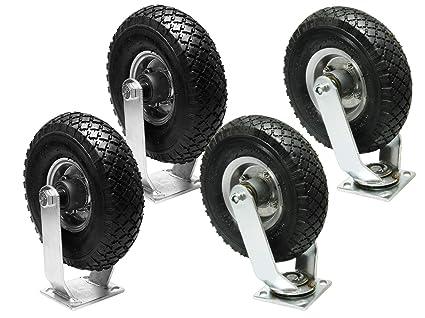 Lenkrolle Luftrad 260mm x 85mm 3.00-4 Luftreifen Rad    Luftbereifung  Reifen