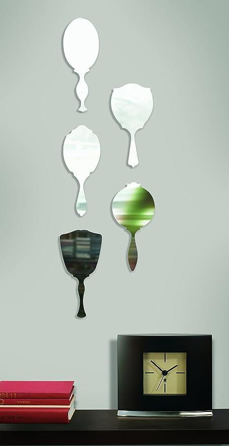 Amazon.com: Umbra Fairest pared decoración Espejos, Conjunto ...
