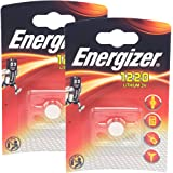 2 x Energizer CR1220 3V Lithium Batteries by Energizer