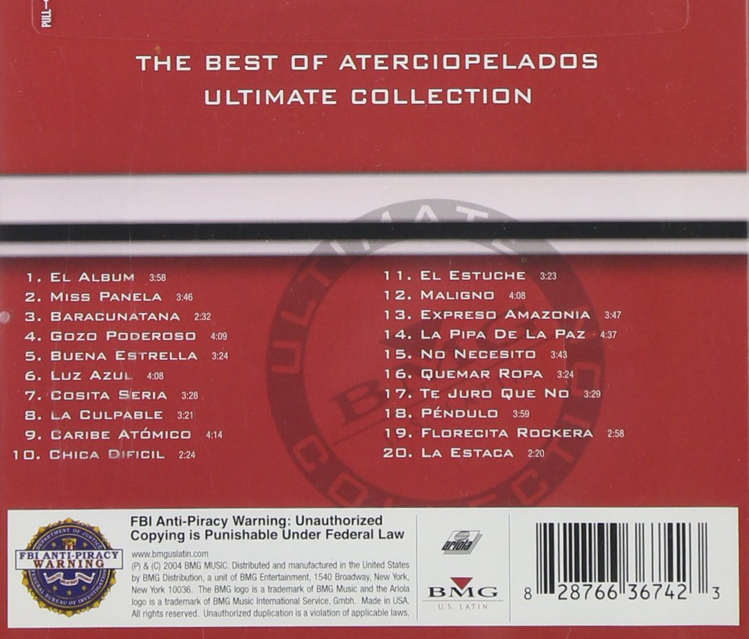 Best of:Ultimate Collection: Aterciopelados: Amazon.es: Música