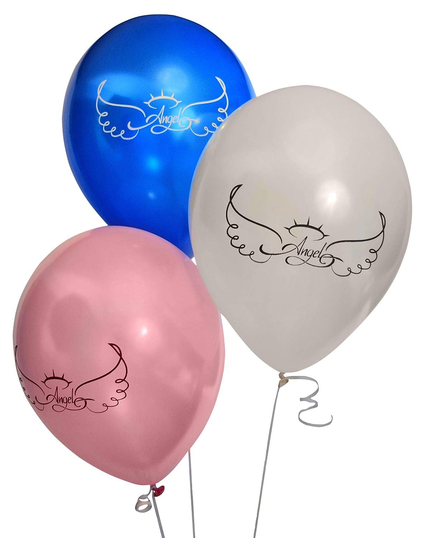 Angel Memorial Balloons Pack Funeral Remembrance In Heaven Memorials Happy Birthday Jpg 1180x1500
