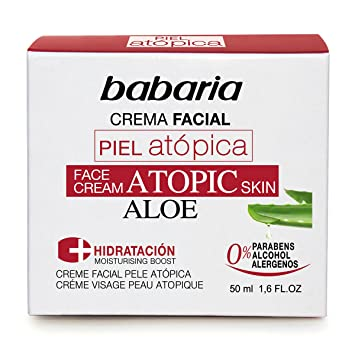 Babaria Atopic Dermatitis / Eczema/ Very Sensitive Face Cream 50ml