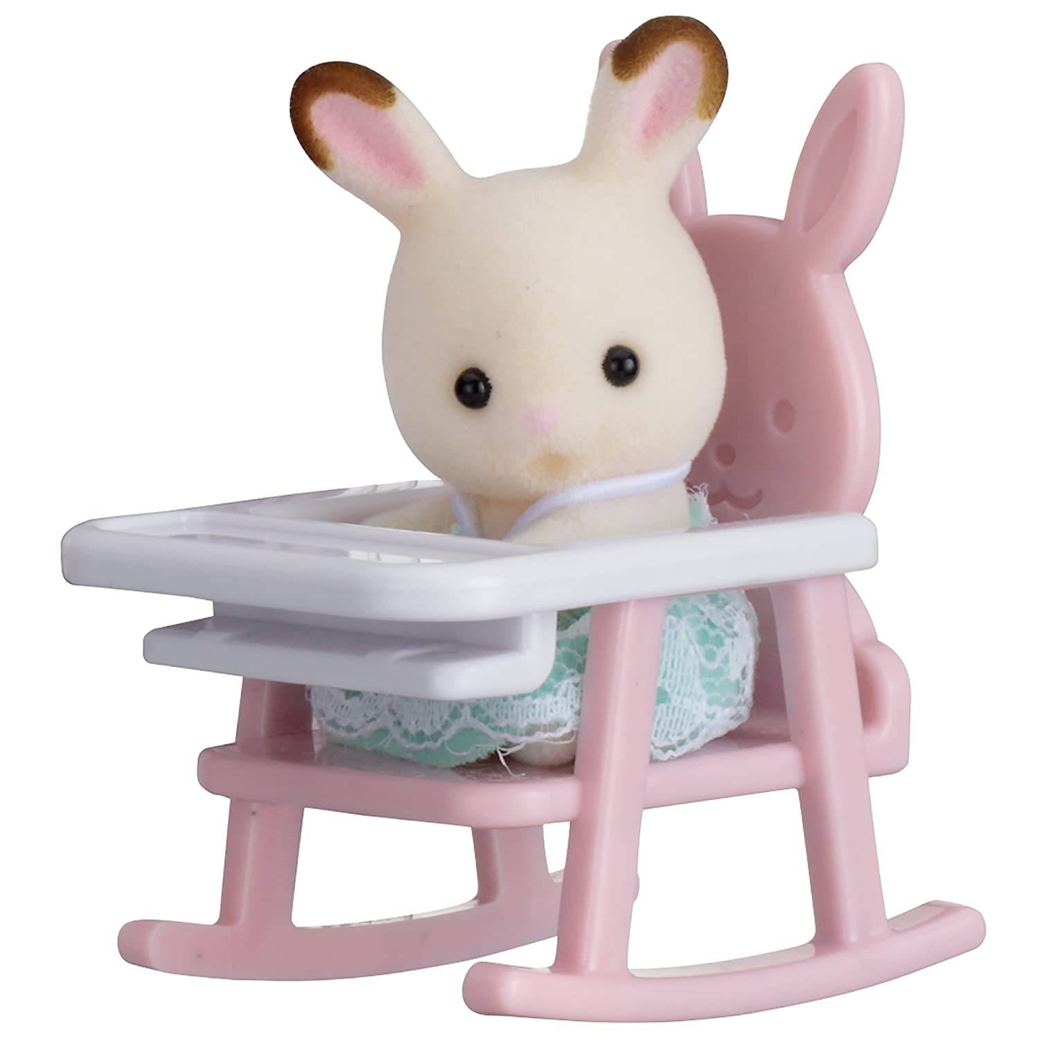Sylvanian Families Rabbit on Baby Chair Baby Carry Case Amazon