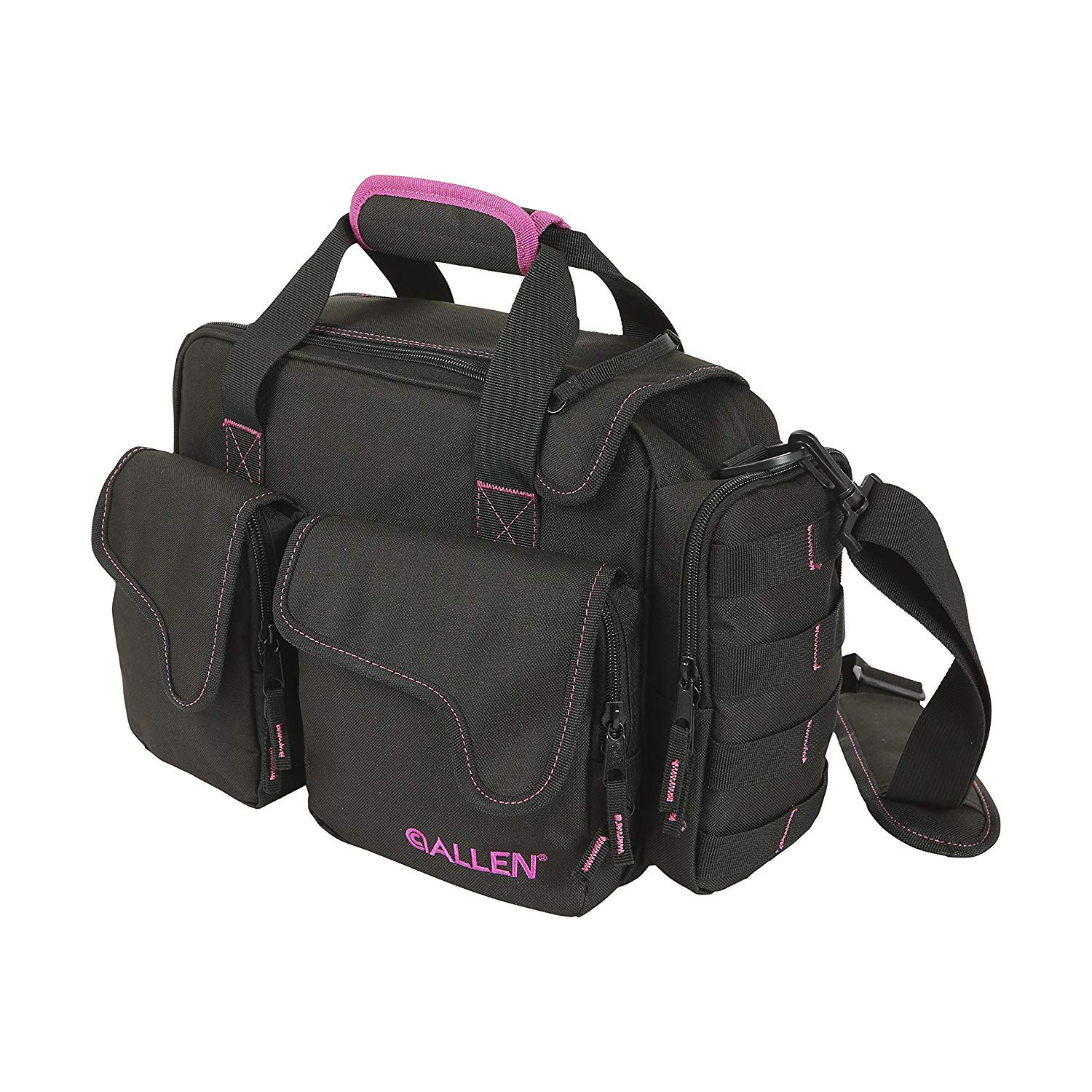 Allen Compact Shooting Range Bag for Women, This Range Bag Comes in Black/Pink (2 Units) by Allen Company (Image #1)