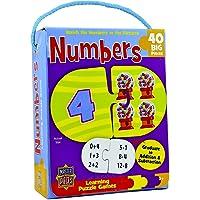 Mini Juegos de Aprendizaje 40Pieces-Alphabet, Juego de Parejas de Animales