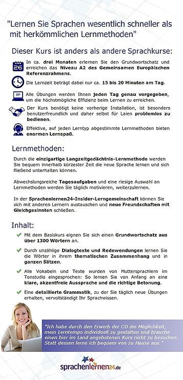Sprachenlernen24.de Slowenisch-Basis-Sprachkurs: PC CD-ROM für ...