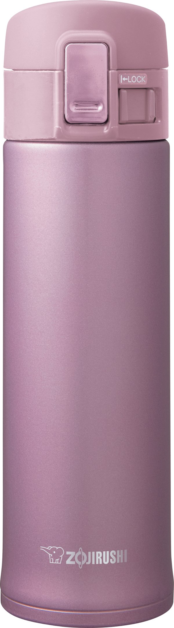 Zojirushi SM-KHE48PT Stainless Mug, 16-Ounce, Lavender Pink
