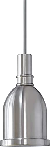 Kindri Metal Pendant Light |Brushed Nickel Pendant Lighting