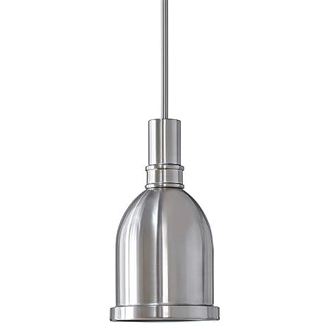 Kindri Metal Pendant Light Brushed Nickel Pendant Lighting For Kitchen Island Ll P202 1bn