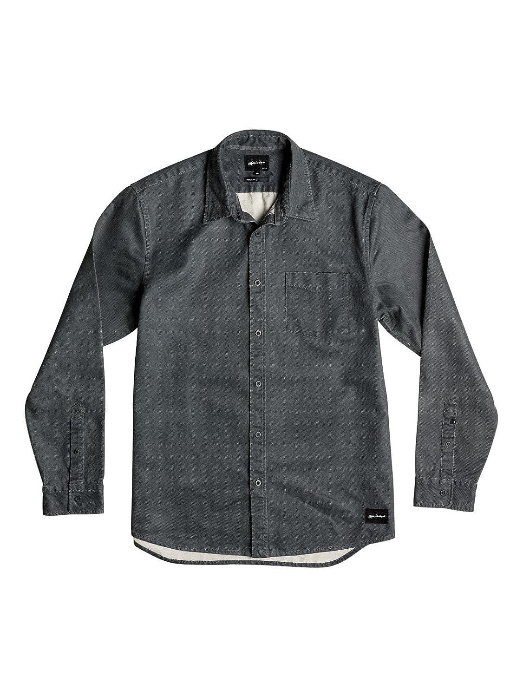 Herren Hemd lang Quiksilver Seized And Released Shirt LS
