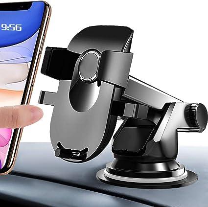 Amzoon Handyhalter Fürs Auto Handyhalterung Kfz Handy Halterung Universale Windschutzscheibe Lüftung Armaturenbrett 3 In 1smartphone Halterung Für Iphone Samsung Huawei Xiaomi Lg Sony Elektronik