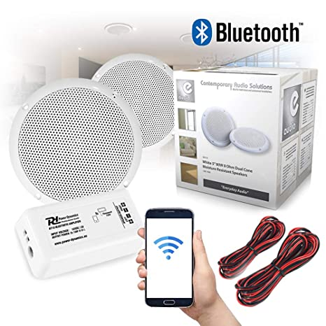 Bluetooth Ceiling Speakers And Amplifier System For Amazon Co Uk