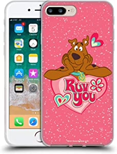 Head Case Designs Officially Licensed Scooby-Doo Ruv You Seasons Soft Gel Case Compatible with Apple iPhone 7 Plus/iPhone 8 Plus