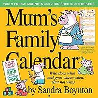 Mums Family Wall Calendar 2019