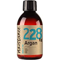 Naissance marockansk arganolja (nr 228) 250ml - Pure & Natural, Anti-Aging, Antioxidant, Vegan, Hexan Free, Ingen GMO