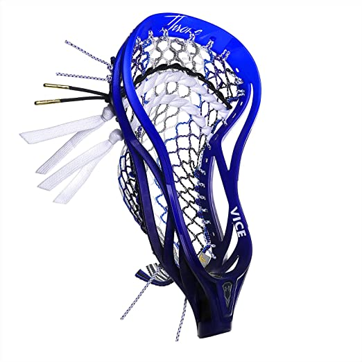 Throne Lacrosse Limited Edition Fiber 2 Vice Pack Includes Mesh and Stringing