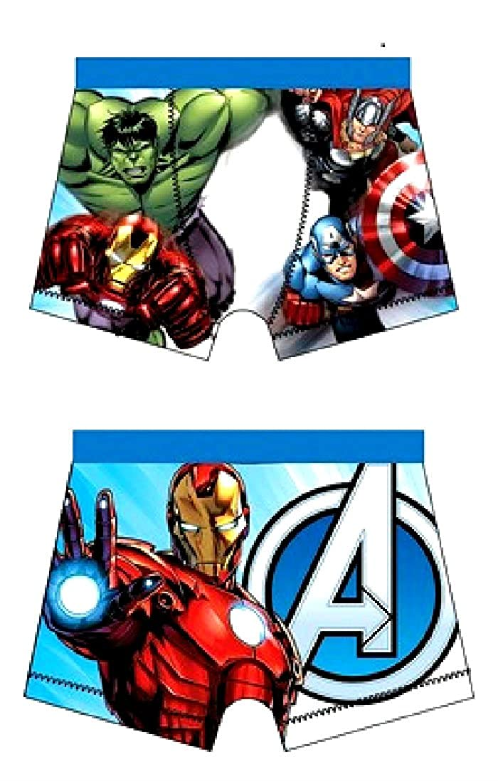5-6 6-7,9-10 4 sizes  4-5 Boy/'s Superman Boxers//shorts//trunks