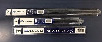 Amazon.com: 2014-2018 Subaru Forester Front & Rear Windshield Wiper ...