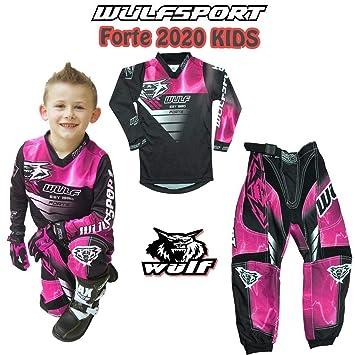 Moto de Moto niños trajes WULFSPORT arena Motocross ATV Quad MX ...