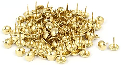 Aexit Metal Round Nails, Screws & Fasteners Head Upholstery