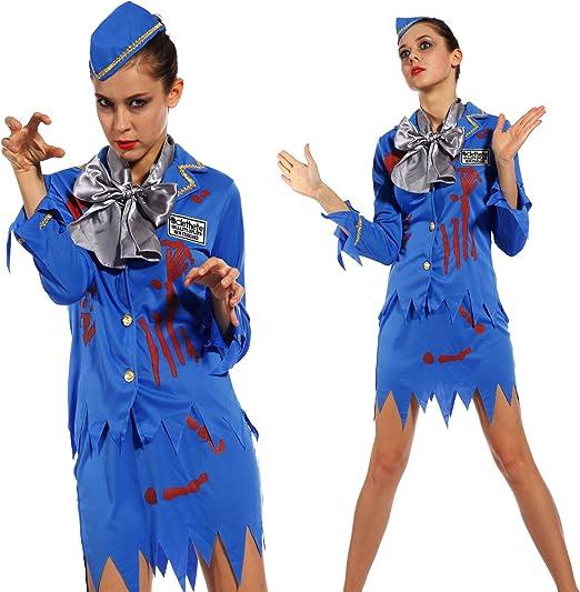 Maboobie - Disfraces de zombies para adulto Disfraz de enfermera ...