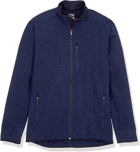 Icebreaker Descender LS Zip Jacket Men jet heather//black 2020 winter jacket