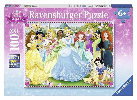 2 opinioni per Ravensburger 10570 0- Princess Puzzle Super, 100 Pezzi, Cartone