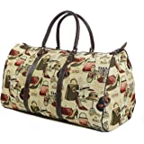 Tapestry Weekend Holdall/Luggage Bag/Travel Bag (large) Boutique - Gobelin Style