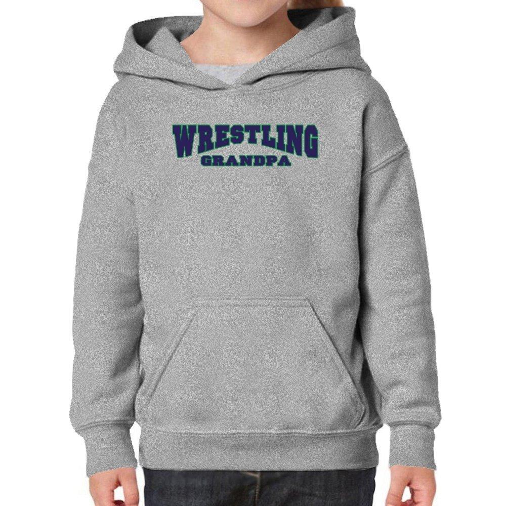 Teeburon Wrestling Grandpa Girl Hoodie