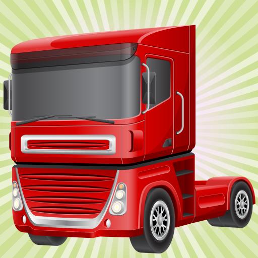 Juego de carreras con camiones para niños : conducir los