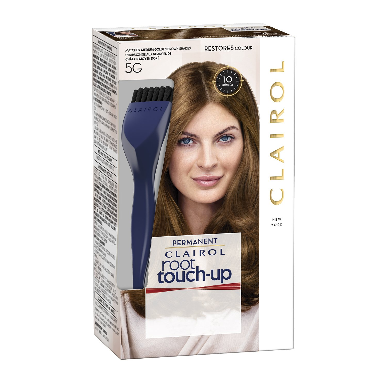 Clairol - Root Touch-up Permanent Hair Color, Brunettes Coty