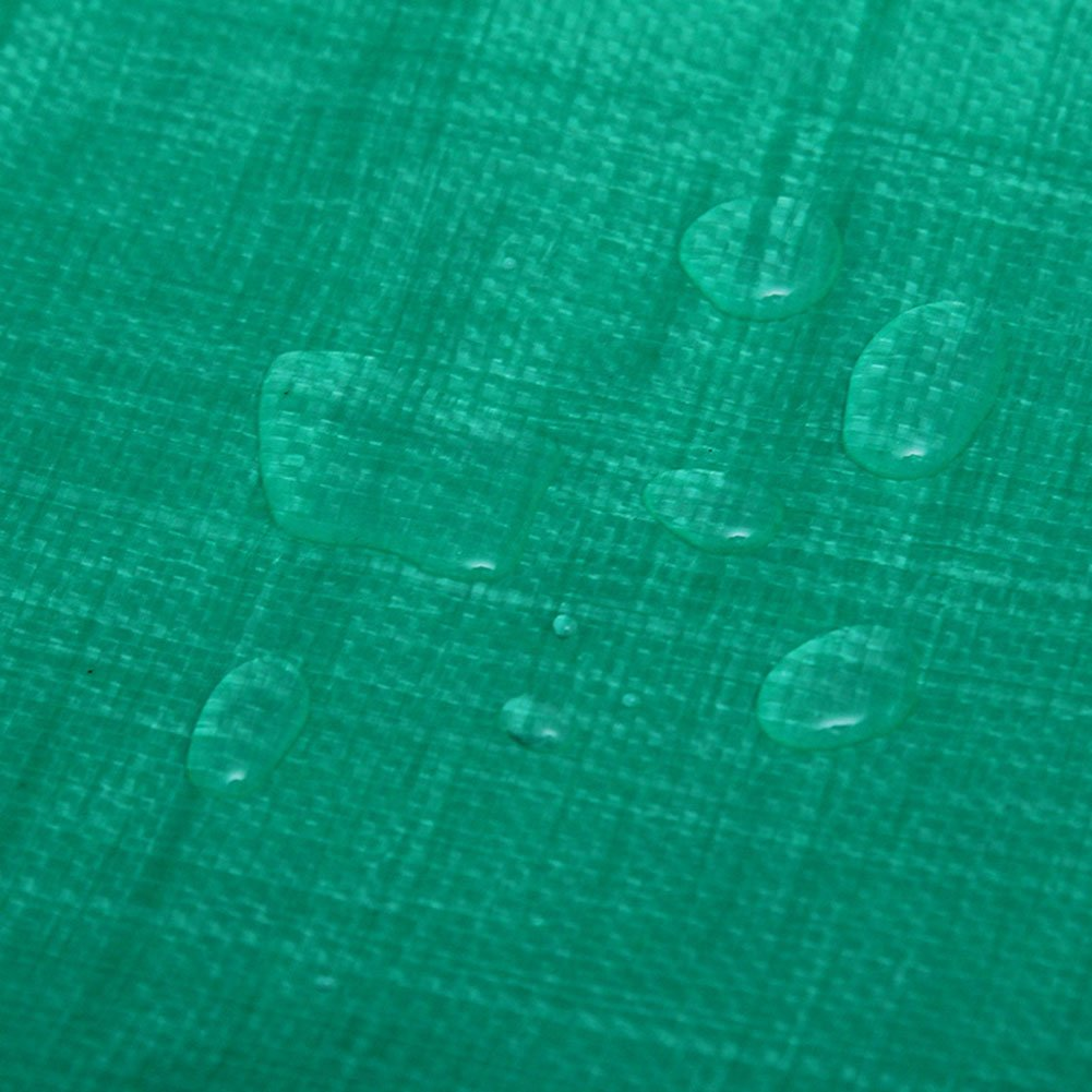 AJZXHE Aufgefüllter Wasserdichter und regendichter regendichter und Sonnenschutzplanen-Lager-LKW-Schuppenstoff-Sonnenschutz im Freien staubdicht Winddicht, grün -Plane 4a52a4