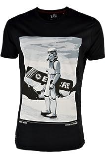 c154432c0 CHUNK 'Snow Trooper ' Männer Star Wars Snow Boarding Graphic Print T-Shirt