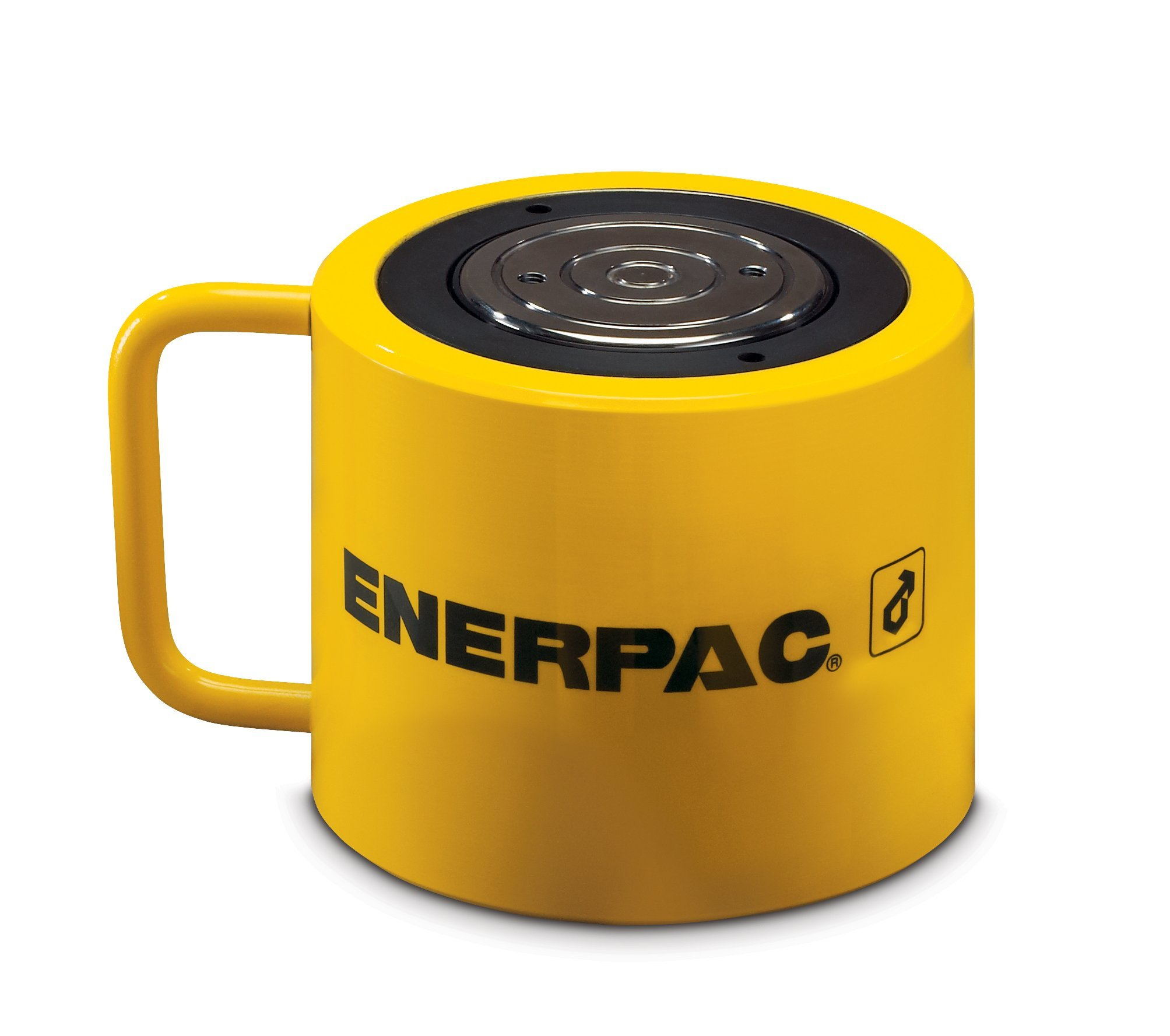 Enerpac RCS-1002 Single-Acting Low-Height Hydraulic Cylinder with 100 Ton Capacity, Single Port, 2.25'' Stroke Length by Enerpac