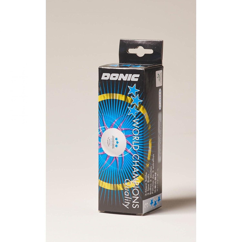 DONIC Ball P40+ *** 12er St weiß 84261200
