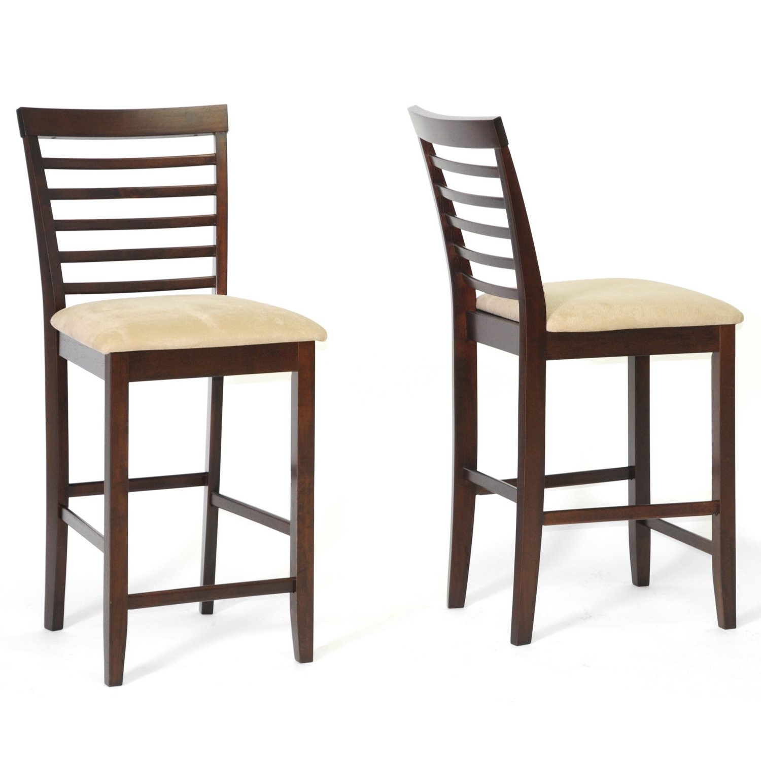 Amazon.com Baxton Studio Kelsey Wood Modern Counter Stool Brown Set of 2 Kitchen u0026 Dining  sc 1 st  Amazon.com & Amazon.com: Baxton Studio Kelsey Wood Modern Counter Stool Brown ... islam-shia.org