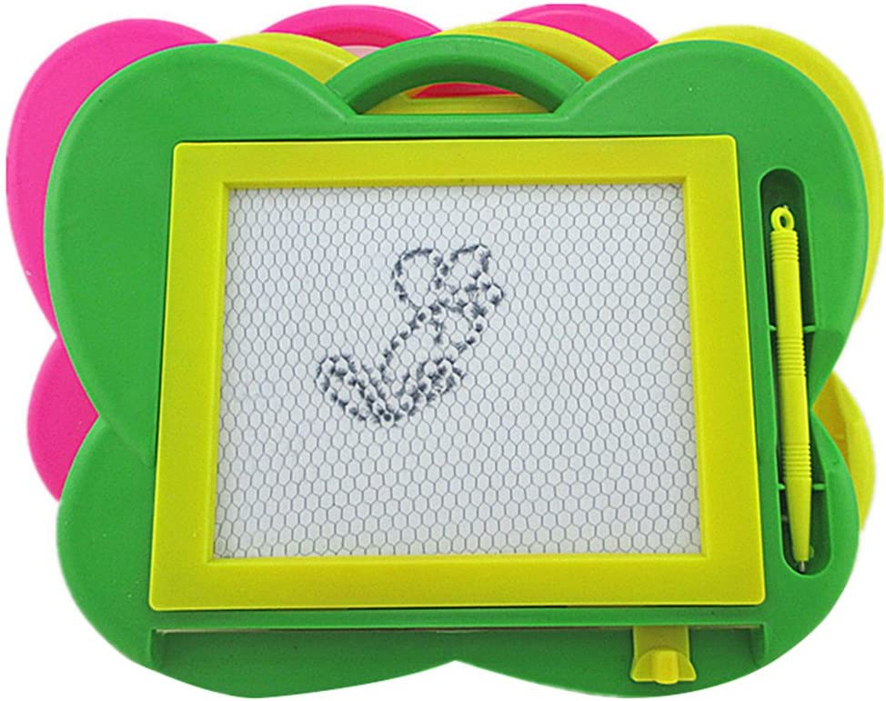 shengyuze Magnetic Drawing Board Random Color Butterfly Shape Baby Kids Erasable Magnetic Writing Drawing Board Child Toy Plastic