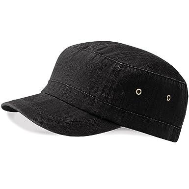 Beechfield Urban Army Cap - Vintage Black  Amazon.co.uk  Clothing 42cba80d93e