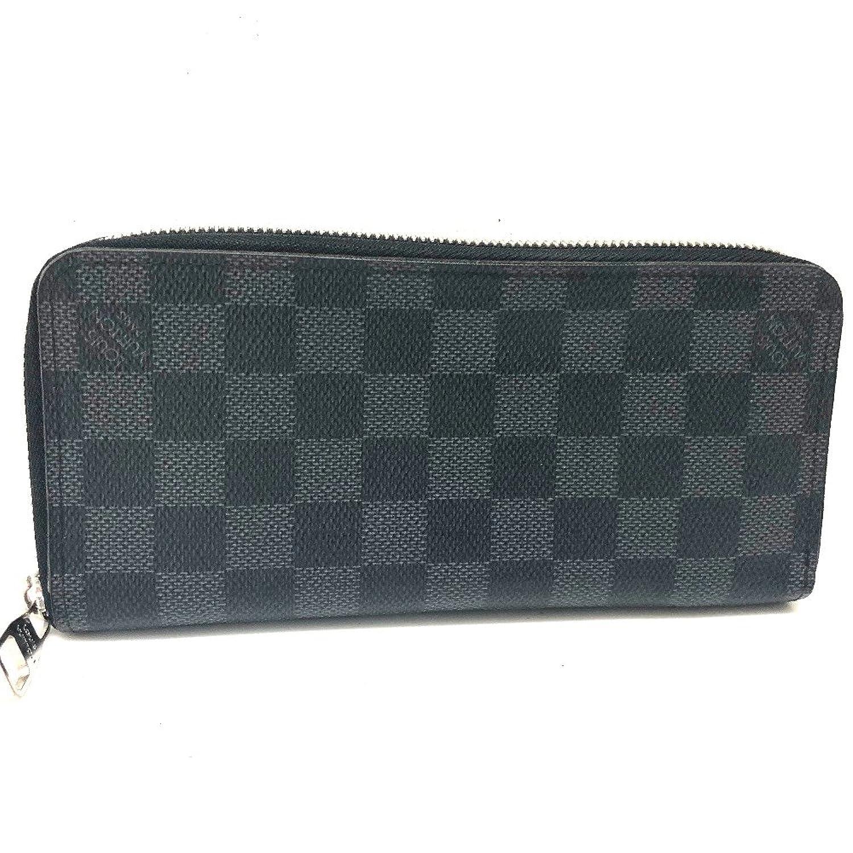 (ルイヴィトン) LOUIS VUITTON N63095 ジッピーウォレットヴェルティカル ダミエグラフィット ラウンドファスナー長財布 長財布(小銭入れあり) ダミエグラフィットキャンバス/メンズ 中古 B07F8RKYRC  -