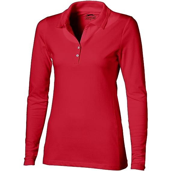 bc068f64dba Slazenger Polo Manches Longues Femme Volley  Amazon.fr  Vêtements et  accessoires
